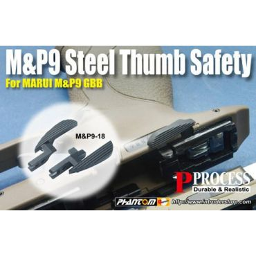 Guarder Steel Ambi Safety for TM M&P9 GBB