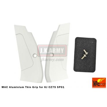 MAC Aluminium Thin Grip for KJ CZ75 SP01 ( SV )