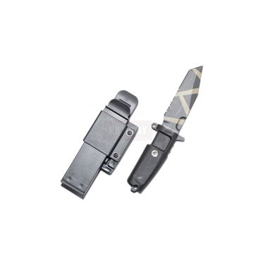 T.S.C x MAD Fulcrum C Style Desert Warfare Dummy Knife ( BK )