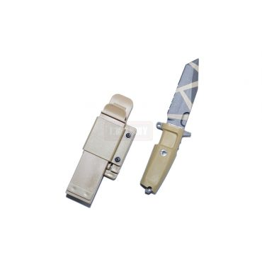T.S.C x MAD Fulcrum C Style Desert Warfare Dummy Knife ( DE )