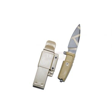 T.S.C x MAD Shrapnel Style Desert Warfare Dummy Knife ( DE )