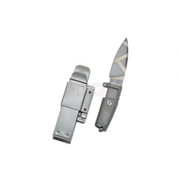 T.S.C x MAD Shrapnel Style Desert Warfare Dummy Knife ( FG )