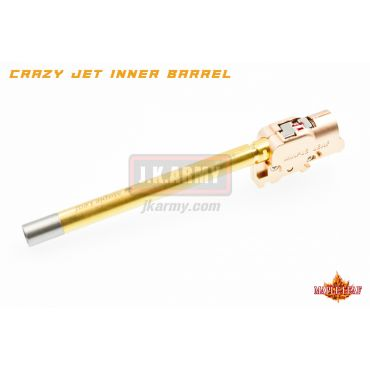 Maple Leaf G Series 113mm Crazy Jet Aerodynamic 6.04mm Inner Barrel w/ Hop Up Chamber Set Kit for WE / TM / VFC