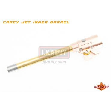 Maple Leaf Hi-Capa Series 113mm Crazy Jet Aerodynamic 6.04mm Inner Barrel w/ Hop Up Chamber Set Kit for WE / TM / VFC