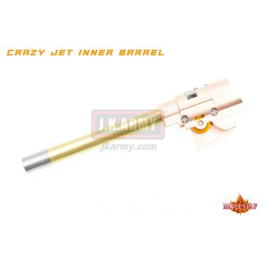 Maple Leaf Hi-Capa Series 97mm Crazy Jet Aerodynamic 6.04mm Inner Barrel w/ Hop Up Chamber Set Kit for WE / TM / VFC