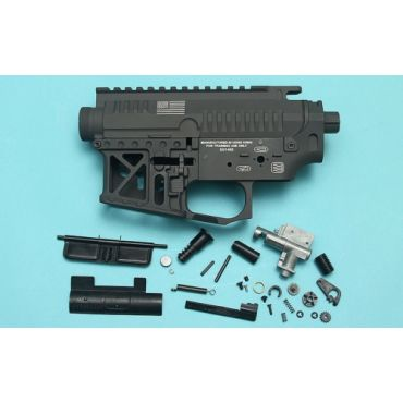 G&P Signature Receiver ( Gray ) For Mauri M4 AEG / M16 AEG Series