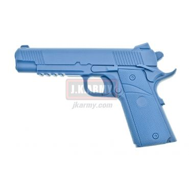 MEU Rubber Training Gun ( Blue )