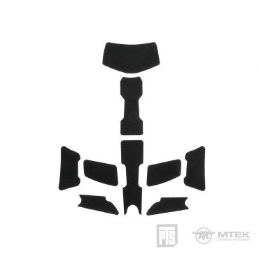 PTS MTEK FLUX Exterior Velcro Kit Black