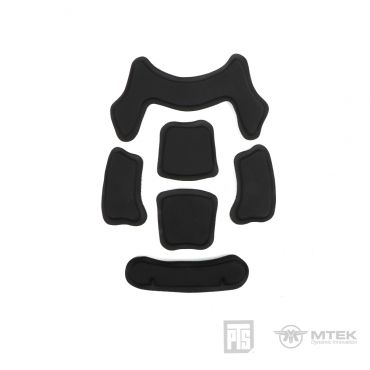 PTS MTEK FLUX Interior Velcro Kit ( Black )