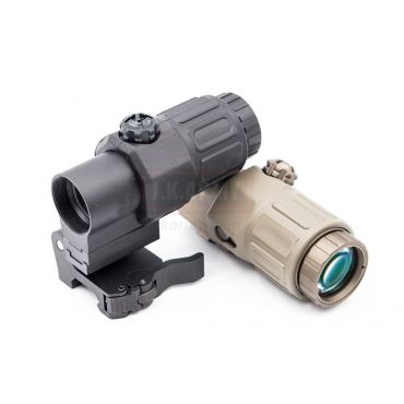 MF/EG 33 Style Magnifer 3X MIL Deluxe with Mount