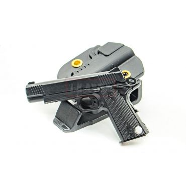 MF Mini 1911 Pistol Model Keychain ( BK )