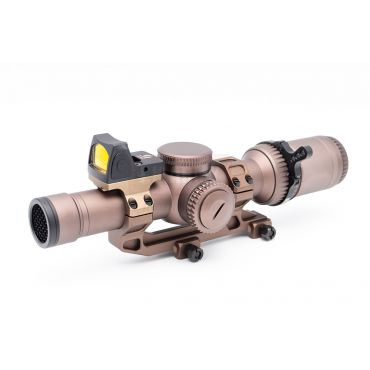 HWOCAG HD 1-6x 24 Airsoft Scope Deluxe Set Type A ( RMR + Plate + Mount )