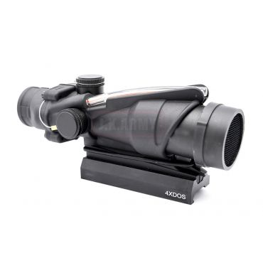 MF EG 31 Style 4X32 Optic Fiber Illuminated Scope with QD Mount ( BK ) ( PUBG Scope )