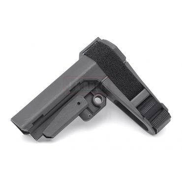 MF P3 Pistol Stabilizing Brace Stock for Airsoft AR / M4 Series ( Black )