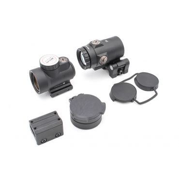 MF MRO Style Red Dot Sight with T Style 3X Airsoft Magnifier Set ( Black )