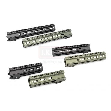 MF MK8 Style M-Lok Rail 7 / 9 / 13 inch for Airsoft AEG / MWS / GHK Multi Nut Spec ( BK / OD )