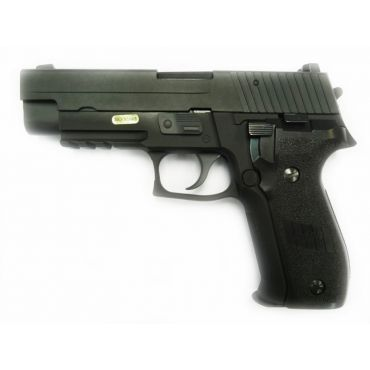 WE F226 MK25 Railed Full Metal GBB Pistol ( No Marking ) ( BK ) ( 226 P226)