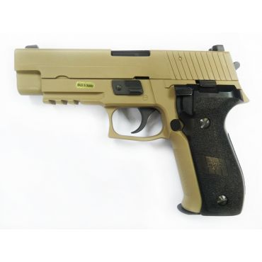 WE F226 MK25 Railed Full Metal GBB Pistol ( No Marking ) ( DE ) ( 226 P226)