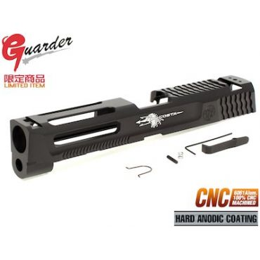 Guarder Al. CNC Slide for TM M&P9 GBB (BK)