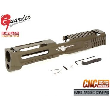 Guarder Al. CNC Slide for TM M&P9 GBB (TAN)