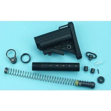 G&P Marui MWS Stubby Buttstock Kit ( Black )