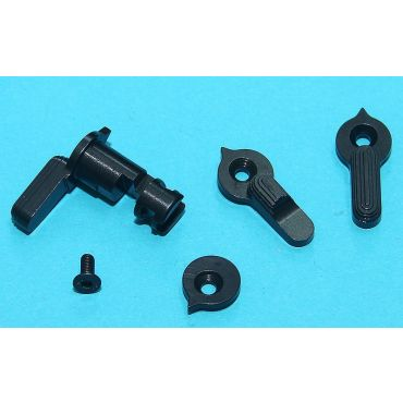 G&P Ambi Safety Selector For Marui MWS ( Black )