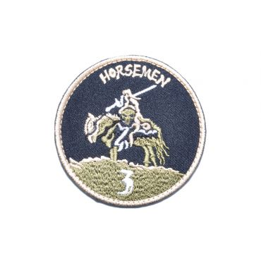 Navy Seals Team 3 Horseman Patch ( AOR1 ) ( Free Shipping )