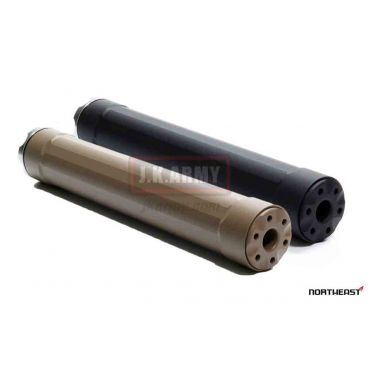 NORTHEAST Rider 6 Mock Silencer Dummy ( 14mm CCW ) ( BK/FDE )