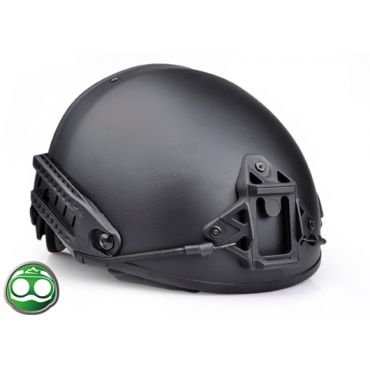 NH ABS Dummy AF Helmet Premium Version ( Black ) ( Large )