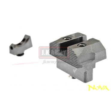 Nova S** Style Steel Front / Rear Sight Set fot TM / WE Model G17 GBB Series