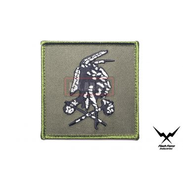 NSWDG Red Squadron No Easy Day 'Shooter' Patch DEVGRU ( OD & White Version )