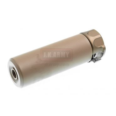 OMG SOCOM Mini 1 Silencer w/ 4P Flash Hider ( DE ) ( 14mm CCW )