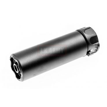 OMG SOCOM Mini 2 Silencer w/ 4P Flash Hider ( BK ) ( 14mm CCW )