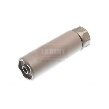 OMG SOCOM Mini 2 Silencer w/ 4P Flash Hider ( DE ) ( 14mm CCW )
