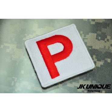 JK UNIQUE P-plat Patch