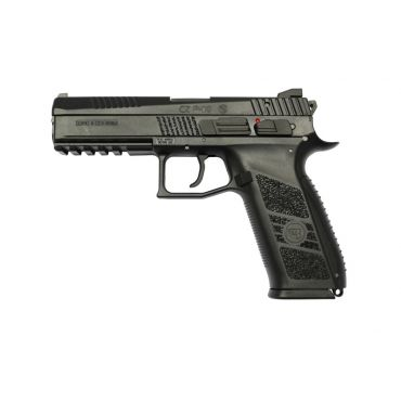 KJ Works CZ P-09 Duty GBB Pistol - BK ( ASG Licensed/ Gas Version )