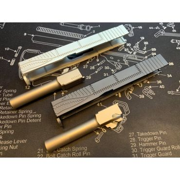 Pro-Arms Airsoft P40 Nighthawk Slide Set for UMAREX Glock 19 / Elite Force / VFC Model G