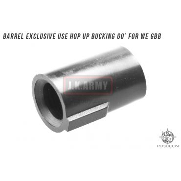 Poseidon Barrel Exclusive use Hop up Bucking 60° for WE GBB ( 1pcs/set ) ( PH-G01 )