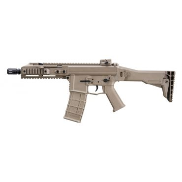 GHK G5 Gas Blow Back Rifle GBBR ( Black / Tan )