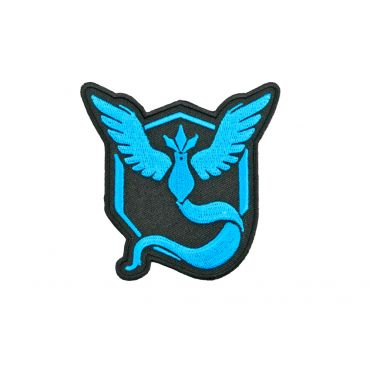 Poke Style Mystic Blue Patch ( Free Shipping )