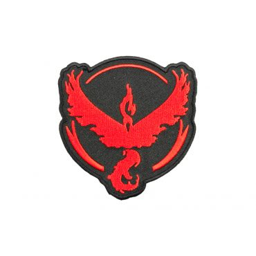 Poke Style Valor Red Team / 火鳥 Patch