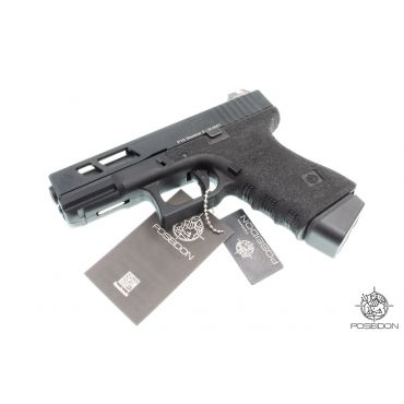 Poseidon P1.9 Shadow GBB Pistol ( Black Stippled Frame )
