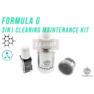Poseidon Formula G 3in1 Cleaning Maintenance Kit ( Graphene )