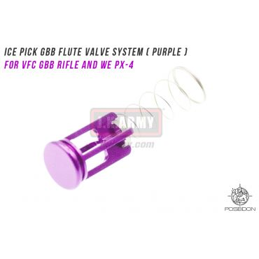 Poseidon ICE PICK GBB Flute Valve System ( Purple ) ( For VFC GBB Rifle and WE PX-4 )