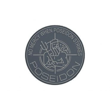 POSEIDON PVC Patch ( 90mm ) ( Free Shipping )