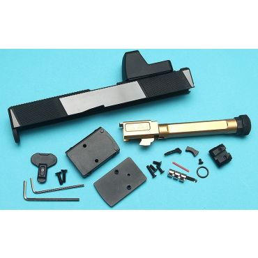 EMG SAI™ Utility Slide Kit with RMR Sight (RMR) for Umarex Glock 17 Gen 4 GBB Pistol