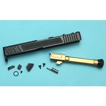 EMG SAI TIER ONE Upgrade Slide Set for UMAREX GLOCK 17 GBBP ( RMR Cut ) ( UMAREX G17 Gen 4 )