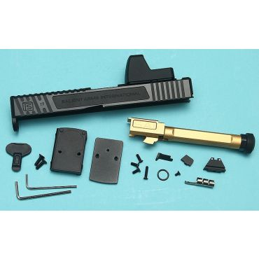 EMG SAI TIER ONE Upgrade Slide Set for UMAREX / VFC GLOCK 17 GBBP ( RMR ) ( UMAREX G17 Gen 4 )