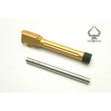 Ace1 Arms Tactical Barrel Upgrade Kit For WE M&P9 ( Gold )