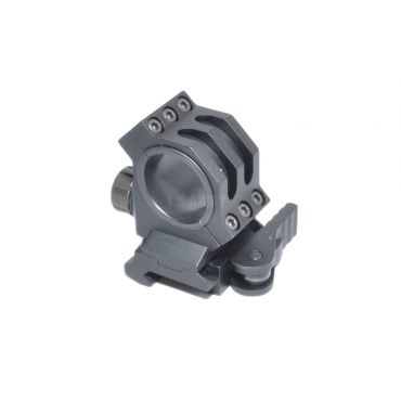 Quick Lock QD Scope Mount 30mm ( 25mm ) ( BK )